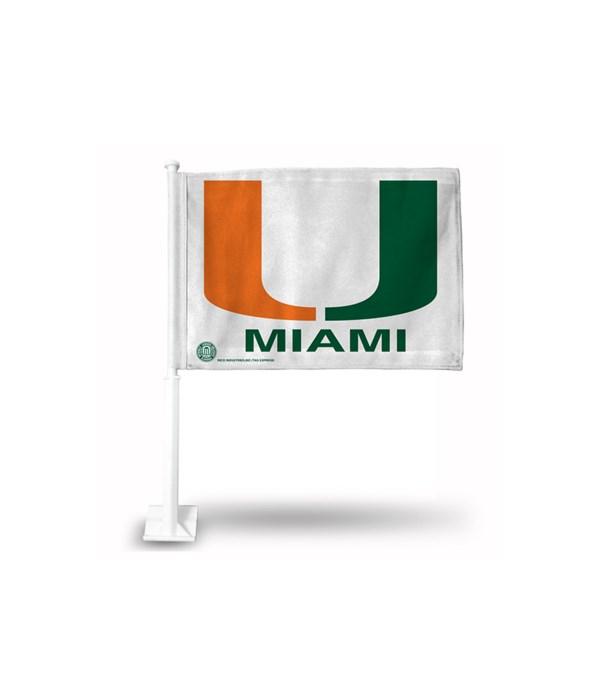 CAR FLAG - MIA HURRICANES