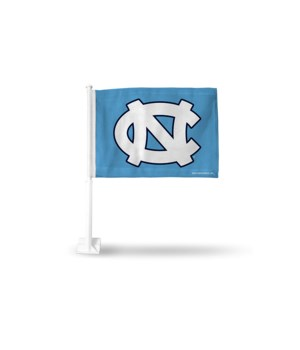 CAR FLAG - NC TARHEELS