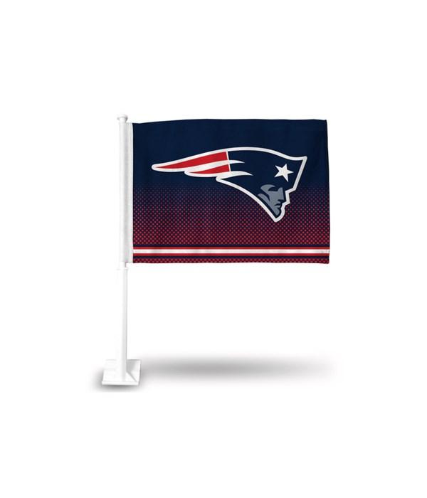 CAR FLAG - NE PATRIOTS