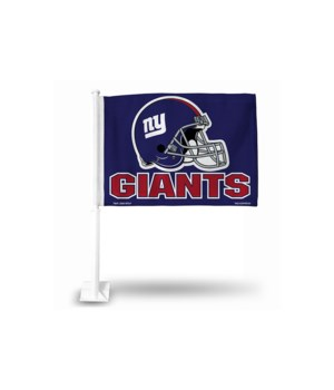 CAR FLAG - NY GIANTS