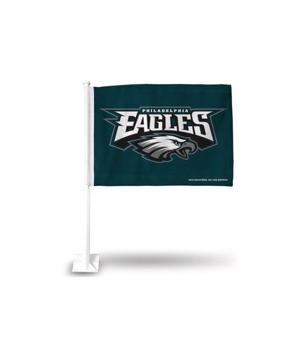 CAR FLAG - PHIL EAGLES