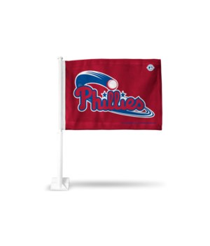 CAR FLAG - PHIL PHILLIES
