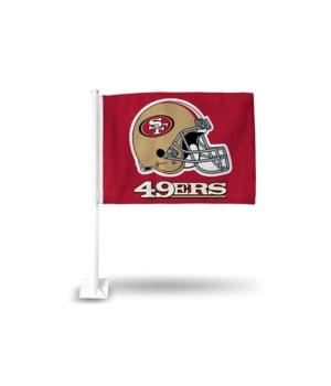 CAR FLAG - SF 49ERS