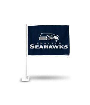 CAR FLAG - SEA SEAHAWKS