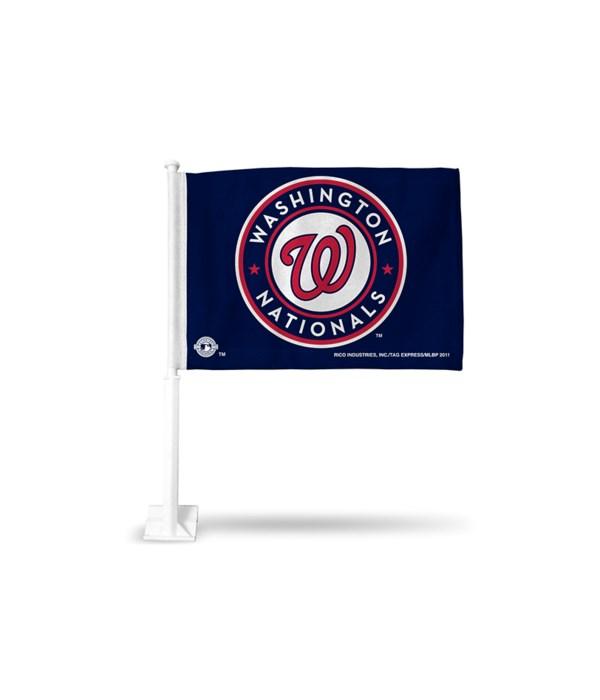 CAR FLAG - WASH NATIONALS