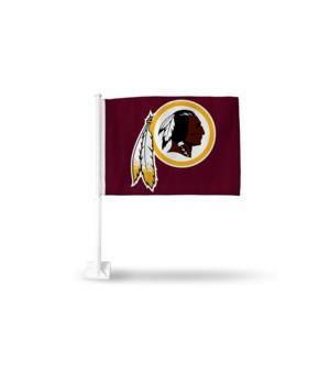 CAR FLAG - WASH REDSKINS