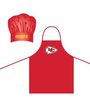 CHEF HAT & APRON - KC CHIEFS