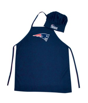 CHEF HAT & APRON - NE PATRIOTS