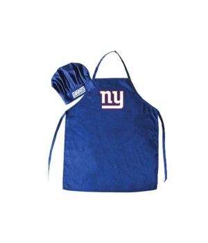 CHEF HAT & APRON - NY GIANTS