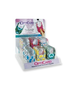 Clarity OptiCard 36PC Asst