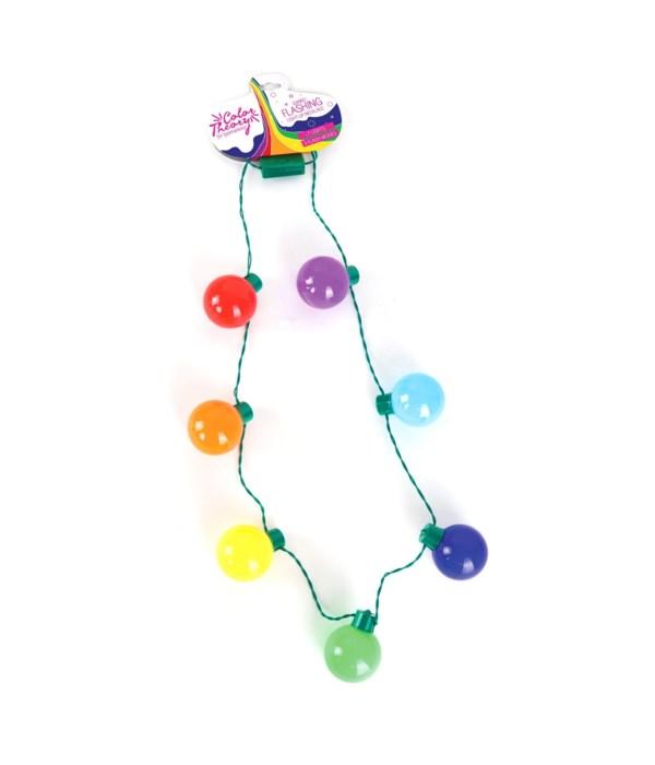 JUMBO Light-Up Flashing Necklace 12PC