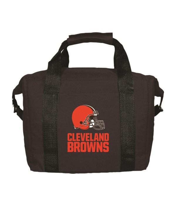 12PK COOLER BAG - CLEV BROWNS