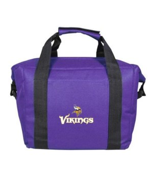 *12PK COOLER BAG - MINN VIKINGS