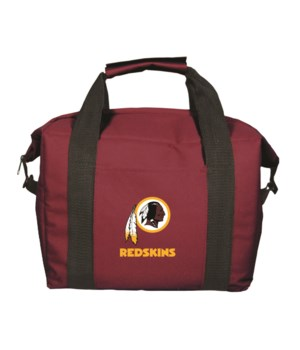 12PK COOLER BAG - WASH REDSKINS