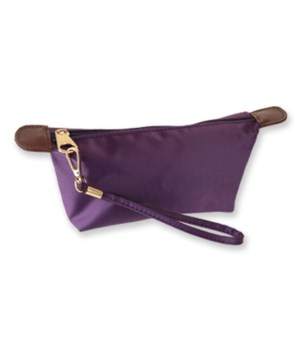 Plum Nylon Cosmetic Bag 6PC