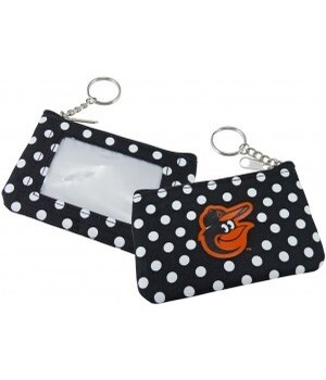 COIN/ID PURSE - BALT ORIOLES