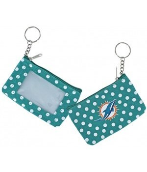 COIN/ID PURSE - MIA DOLPHINS
