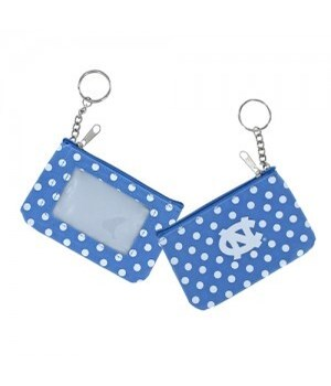 COIN/ID PURSE - NC TARHEELS
