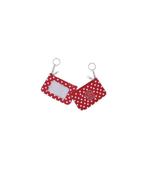 COIN/ID PURSE - NC STATE WOLFPACK