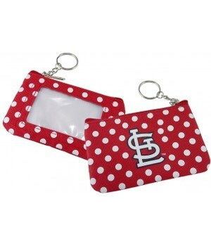COIN/ID PURSE - ST LOUIS CARDINALS