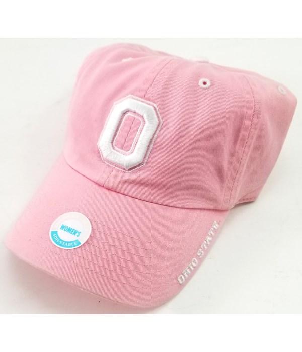 Ohio State University Ice Pink cap