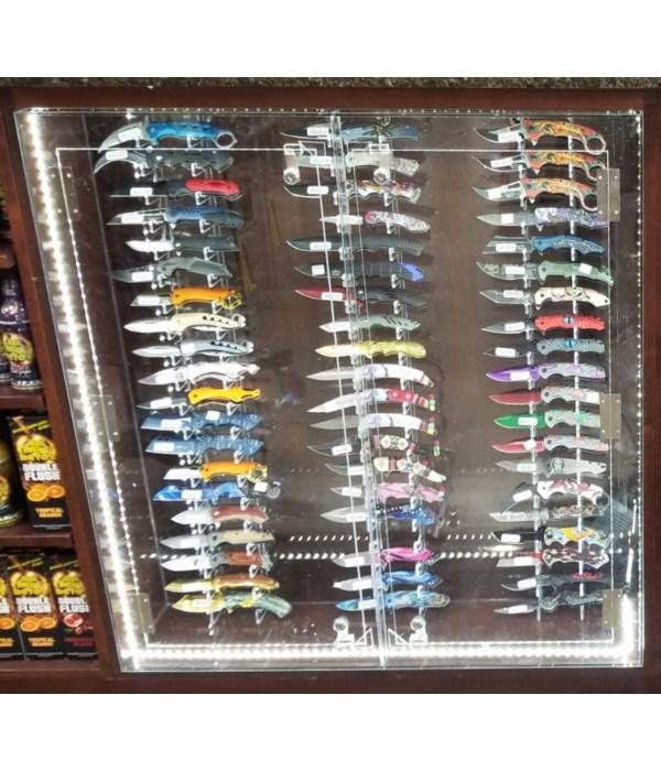 LED Knife display 34.5W x 36.5T