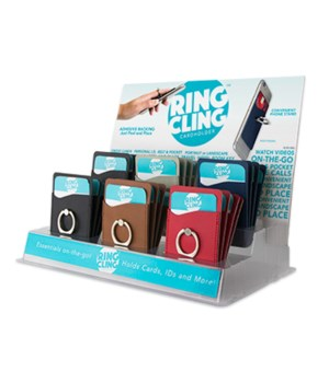 Ring Cling Cardholder 24PC
