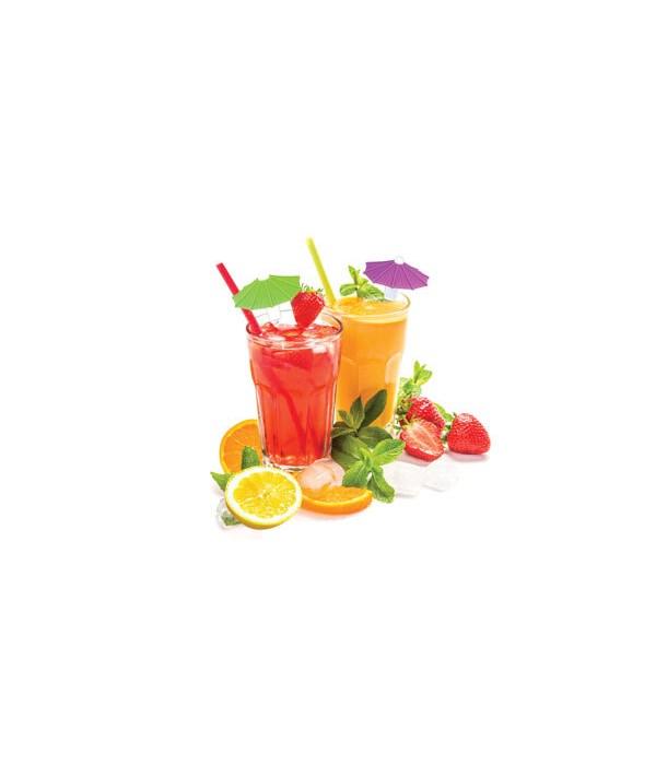 Silicone Umbrella Drink Markers 24PC