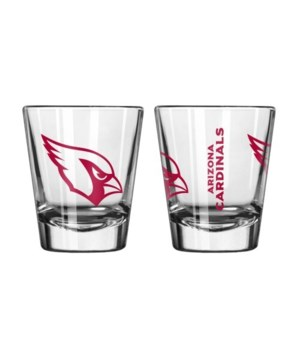 CLEAR SHOT GLASS - ARIZ CARDINALS