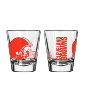 CLEAR SHOT GLASS - CLEV BROWNS