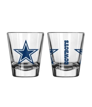 CLEAR SHOT GLASS - DAL COWBOYS