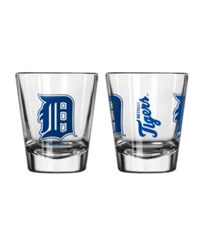 CLEAR SHOT GLASS - DET TIGERS