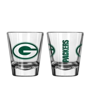CLEAR SHOT GLASS - GREEN BAY PACKERS