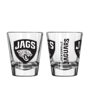 CLEAR SHOT GLASS - JAX JAGUARS