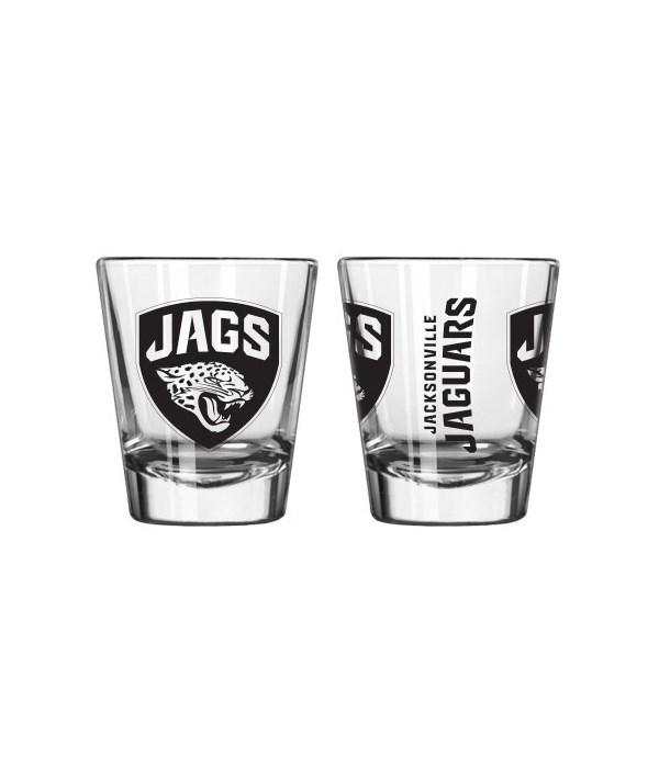 CLEAR SHOT GLASS - JAX JAGUARS