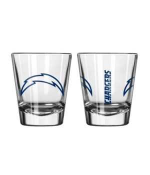 CLEAR SHOT GLASS - LA CHARGERS