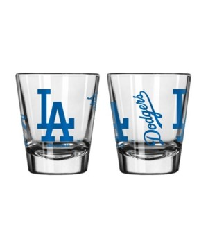 CLEAR SHOT GLASS - LA DODGERS