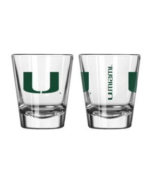 CLEAR SHOT GLASS - MIA HURRICANES