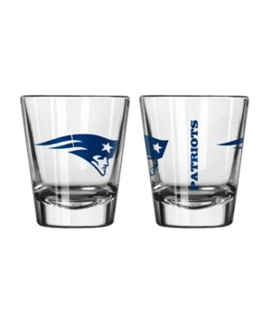 CLEAR SHOT GLASS - NE PATRIOTS