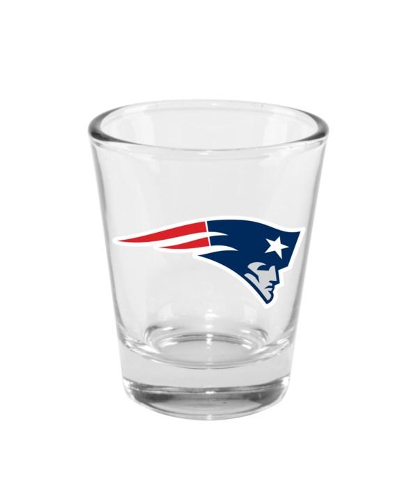 CLEAR SHOT GLASS - NE PATRIOTS