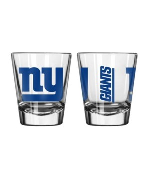 CLEAR SHOT GLASS - NY GIANTS