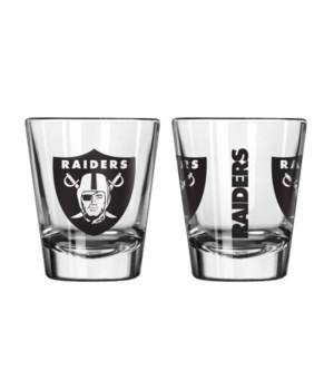 CLEAR SHOT GLASS - OAK RAIDERS