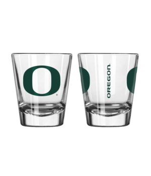 CLEAR SHOT GLASS - OREGON DUCKS