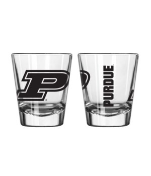 CLEAR SHOT GLASS - PURDUE
