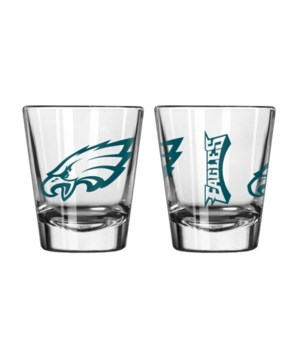 CLEAR SHOT GLASS - PHIL EAGLES