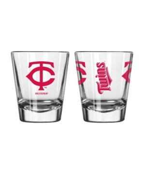 MN Twins Clear Shot Glass