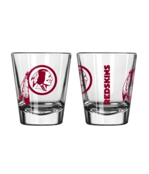 CLEAR SHOT GLASS - WASH REDSKINS