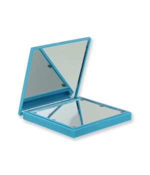 Blue Lighted Compact Mirror 4PC