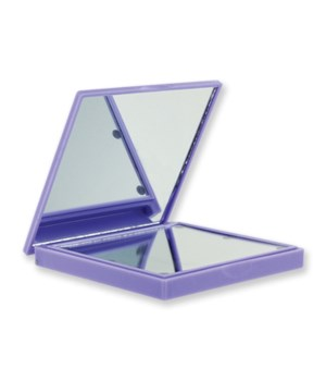 Purple Lighted Compact Mirror 4PC
