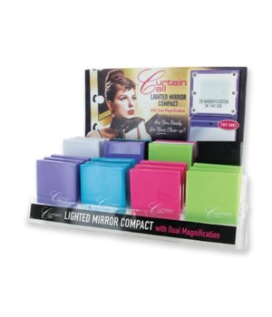 Lighted Compact Mirror 24PC